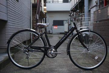 ステンレスパーツ多用のお買い得シティサイクル!ペンタスシティ