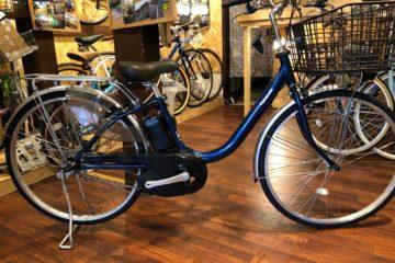 軽量な電動自転車 パナソニック ビビL